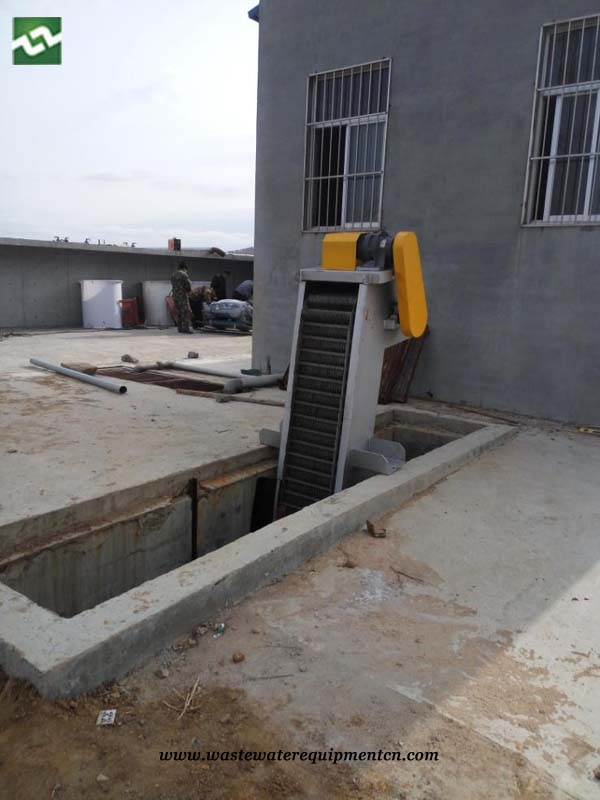 Rotary Bar Screen Waste Remover for Wastewater Plant in Shandong