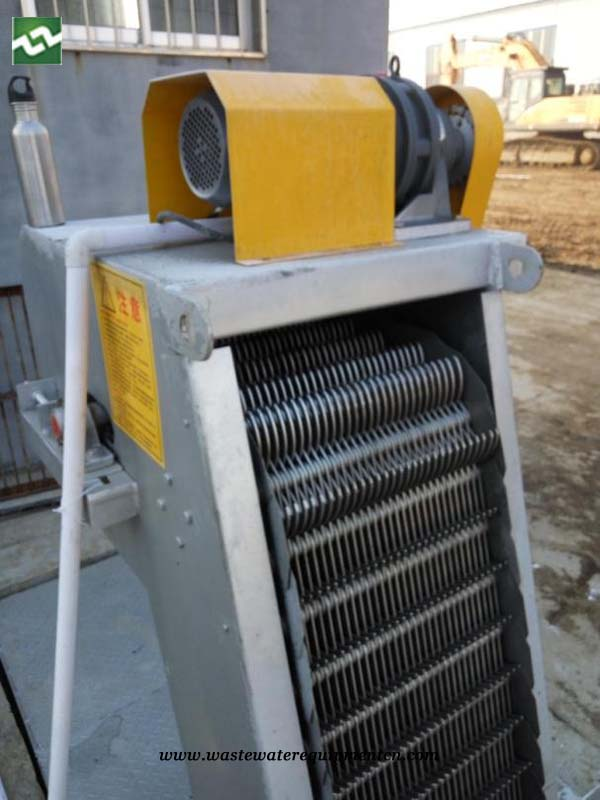 Mechanically Cleaned Bar Screen for Wastewater Plant in Shandong