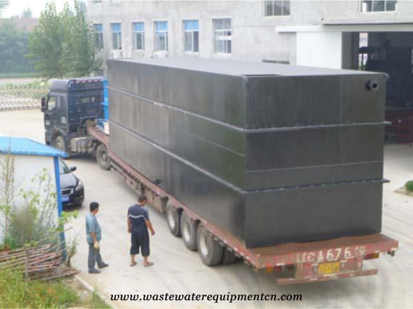 Integrated Wastewater Treatment Machine