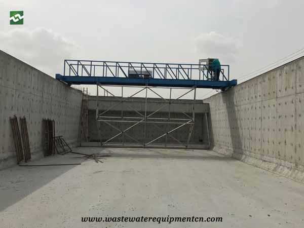 sludge scraper system to Clean Suspended Matter in Binzhou
