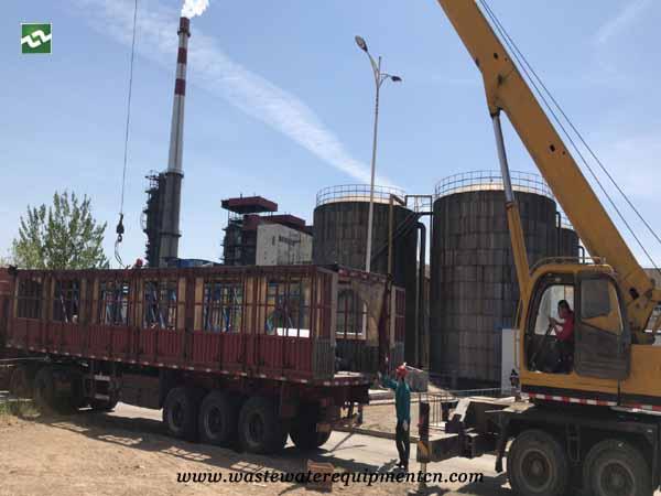 sludge scraper unit to Clean Suspended Matter in Binzhou