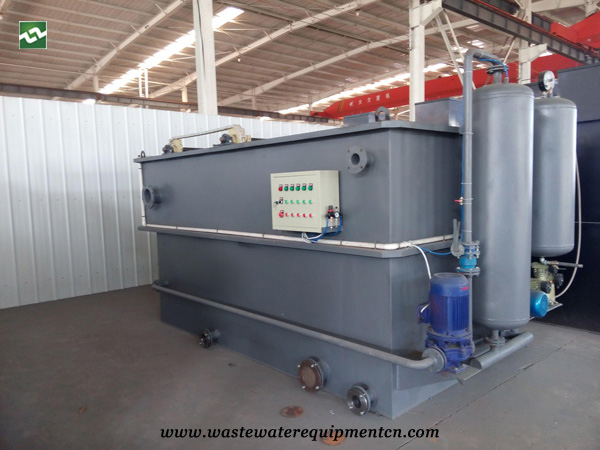 Application of DAF unit in food processing plant in Rongcheng