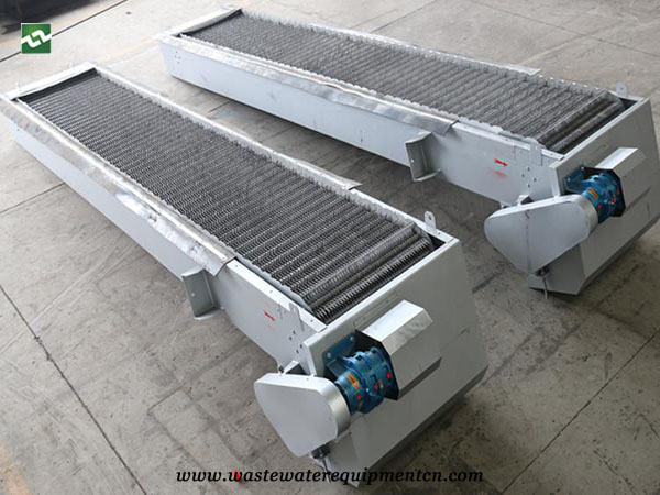 ROTARY GRILLE DECONTAMINATION MACHINE Waste Water Treatment in for Food Plant