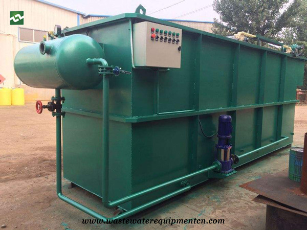 Application of cavitation air flotation system in refinery wastewater treatment