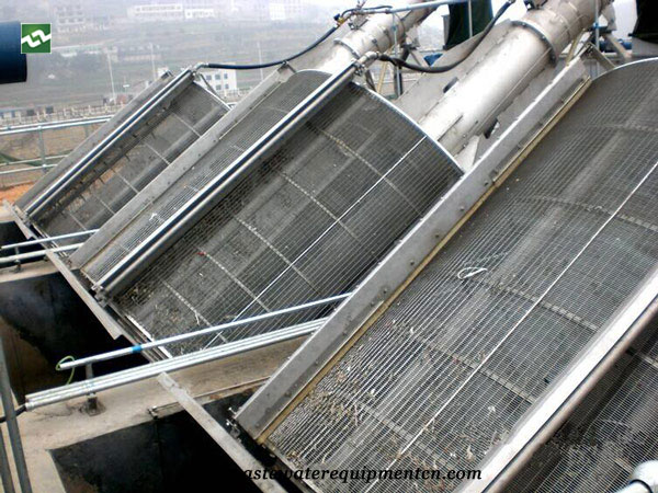 Application of drum type grille equipment in Slaughtering industry in Dingtao