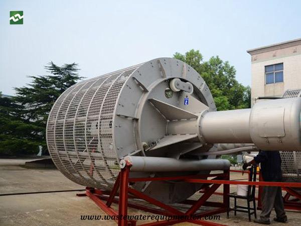 Application of drum type grille machine in Slaughtering industry in Dingtao