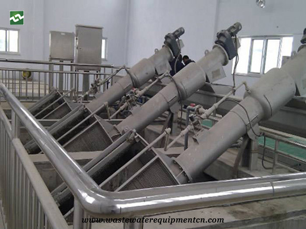 Application of drum type grille unit in Slaughtering industry in Dingtao