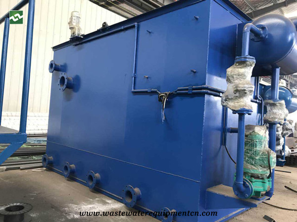 Application of DAF unit for canning industry