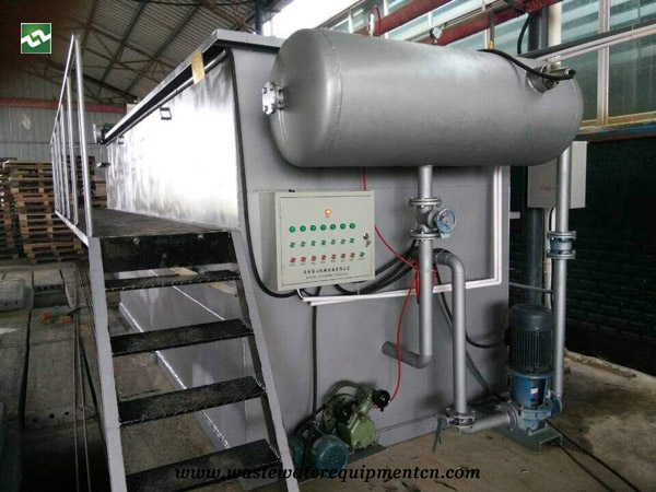 Reconstruction of DAF System in Weifang Coking Plant