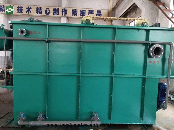 Application of Cavitation Air Flotation Machine for Slaughterhouse in Henan