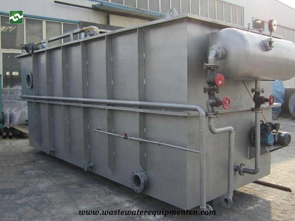 CAF Machine for Sauced Meat Factory Sewage Treatment in Liaoning