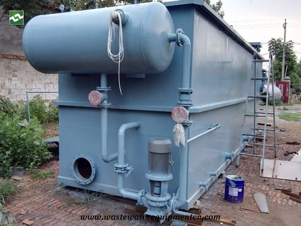 CAF machine for sewage treatment in Chinese herbal medicine company in Liaoning