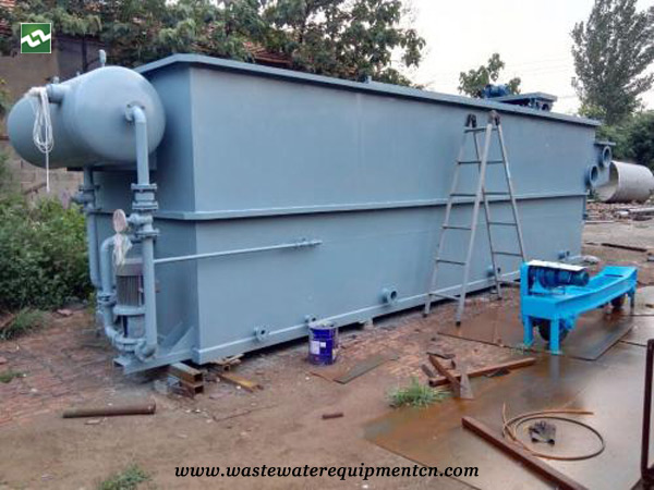 CAF unit for sewage treatment in Chinese herbal medicine company in Liaoning