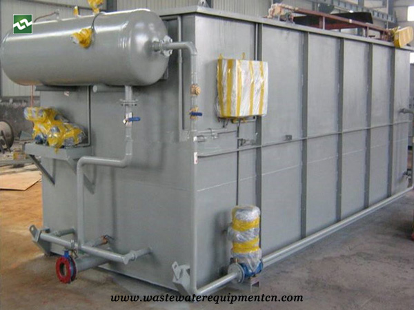 Cavitation Air Flotation Machine for Sauced Meat Factory Sewage Treatment in Liaoning