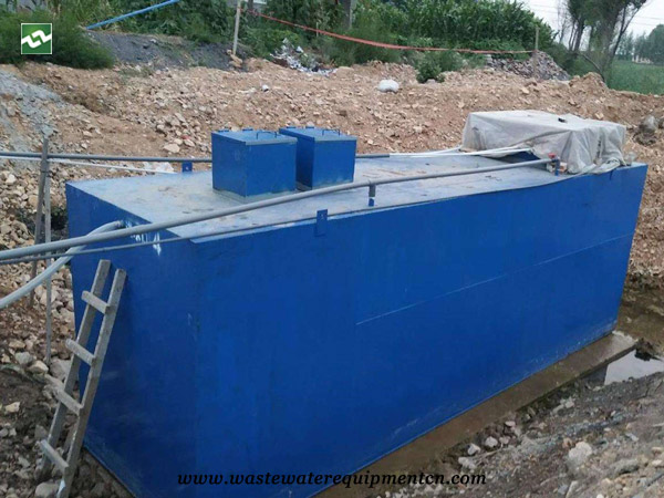 Application of Buried Sewage Treatment Tank for A Pig Farm in Taian