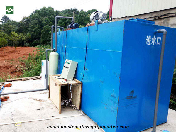 Application of Underground Sewage Treatment Plant for A Pig Farm in Taian