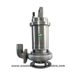 Stainless Steel Submersible Wastewater Pump