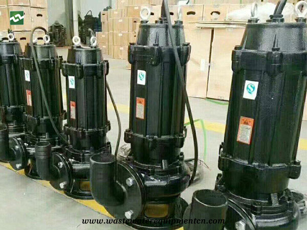 Application of Submersible Polluted Water Pump for A Sewage Treatment Plant in Zhengzhou